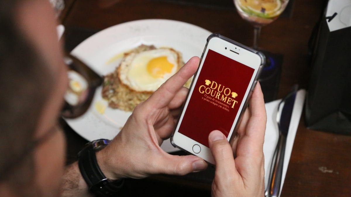 Aplicativo Duo Gourmet: gastronomia com economia na palma da mão!