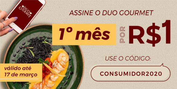 Duo Gourmet Mês do comsumidor