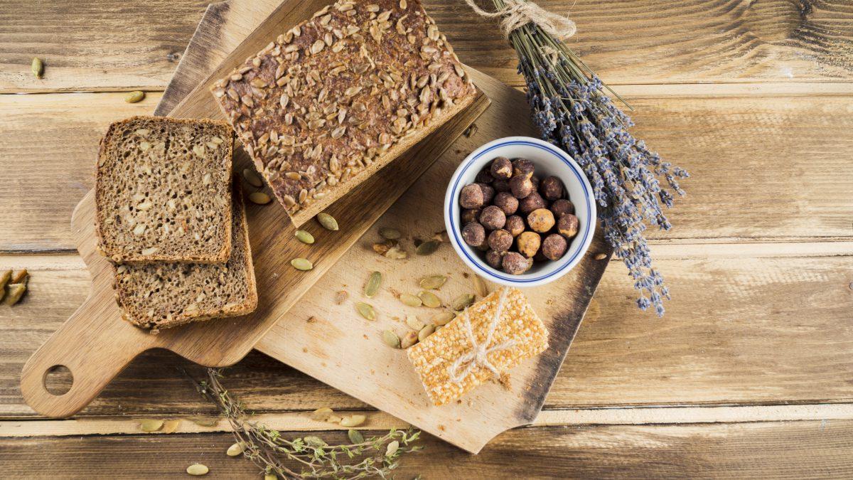 Receita de pão sem glúten, confira três opções.
