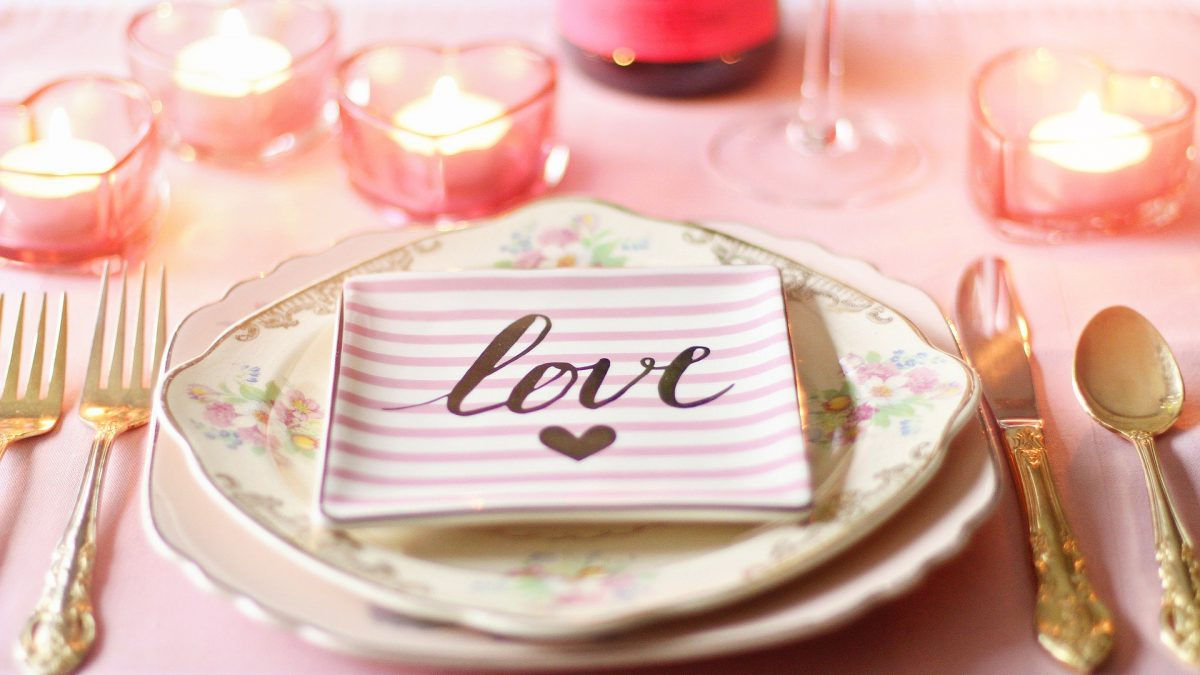 Dia dos namorados – cardápio completo de jantar romântico em casa