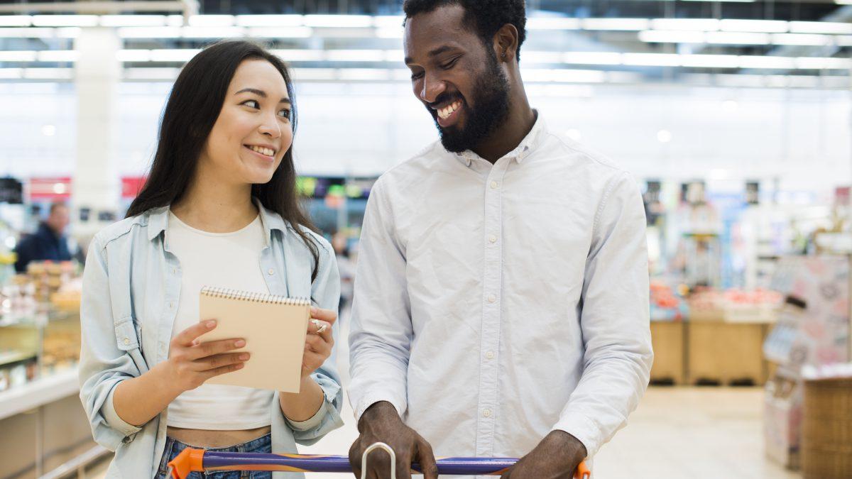 Planejamento de compras para ir menos ao supermercado