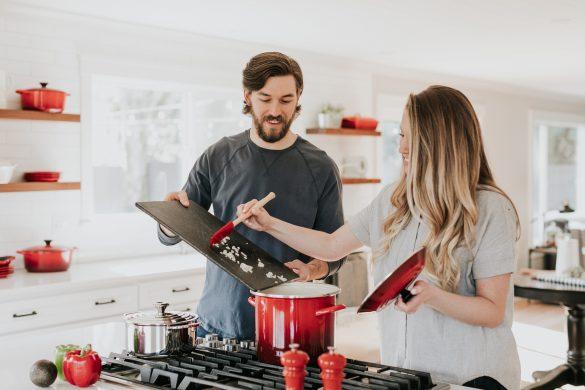 Cozinhar a 4 mãos - Cozinha com a família